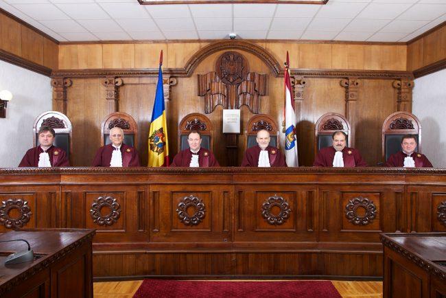 Judecătorii Curții Constituționale FOTO: constcourt.md