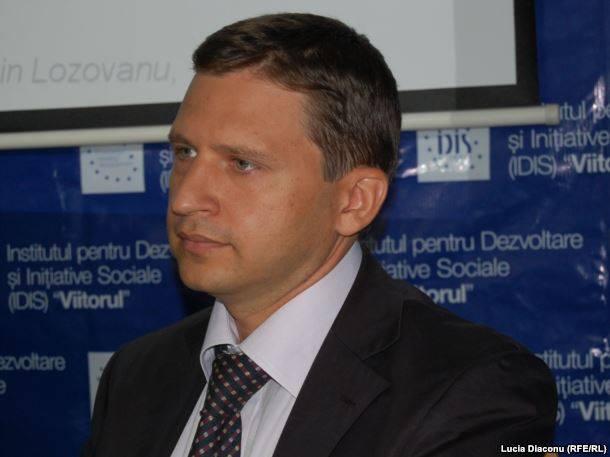 Expertul Institutului Economiei de Piață Viorel Gârbu FOTO: Lucia Diaconu RFL RL