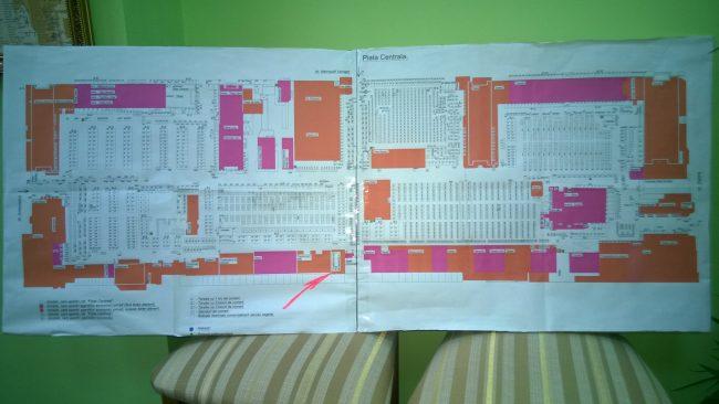 Harta Pieţei Centrale din Chişinău FOTO moldNova