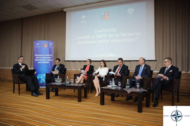 "Participanți la Conferința Internațională ""Summit-ul NATO de la Varșovia"" FOTO: CID NATO"