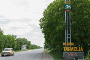 Intrarea în raionul Taraclia FOTO Sandu Tarlev