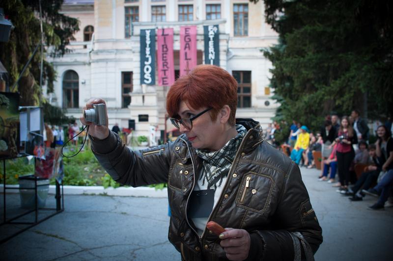 Angelina Roșca, foto Sandu Tarlev.