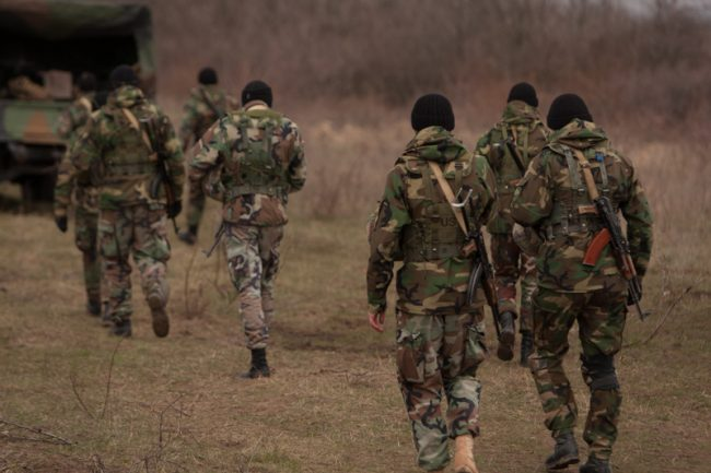 Soldați moldoveni FOTO Sandu Tarlev