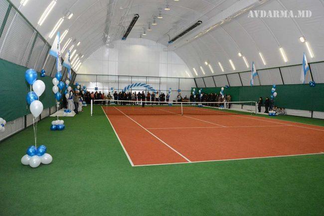 Teren de tenis, inaugurat la Avdarma Sursa foto.