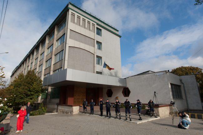 Sediul Centrului Național Anticorupție din Chișinău FOTO: Sandu Tarlev