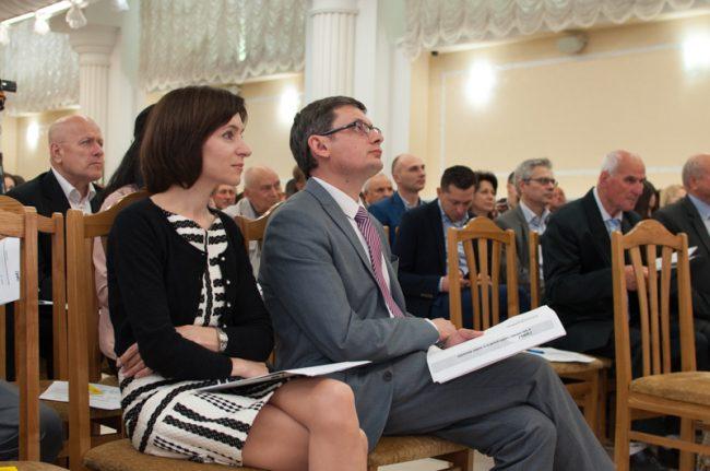"""Maia Sandu și Igor Grosu au fost """"factorii de decizie"""" ai ministerului Educației în perioada 2012-2015 FOTO Sandu Tarlev"""