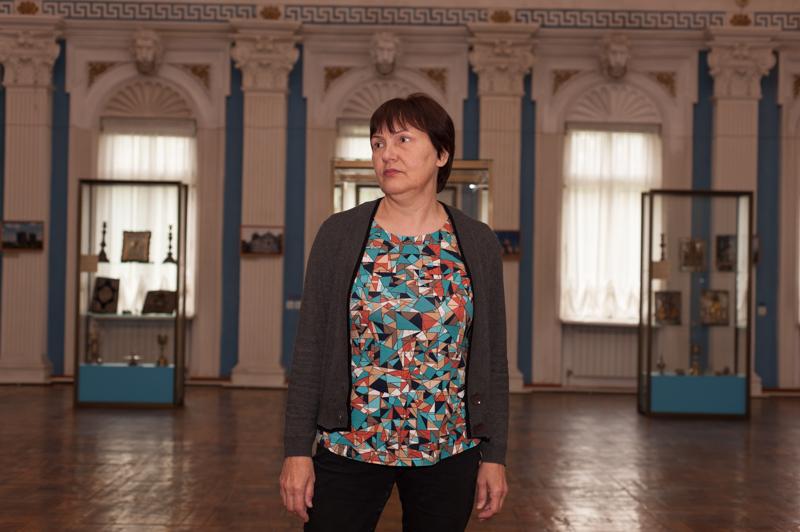Nadejda Botea a lucrat la Muzeul Ateismului din 1977 și până la disființarea acestuia FOTO Sandu Tarlev