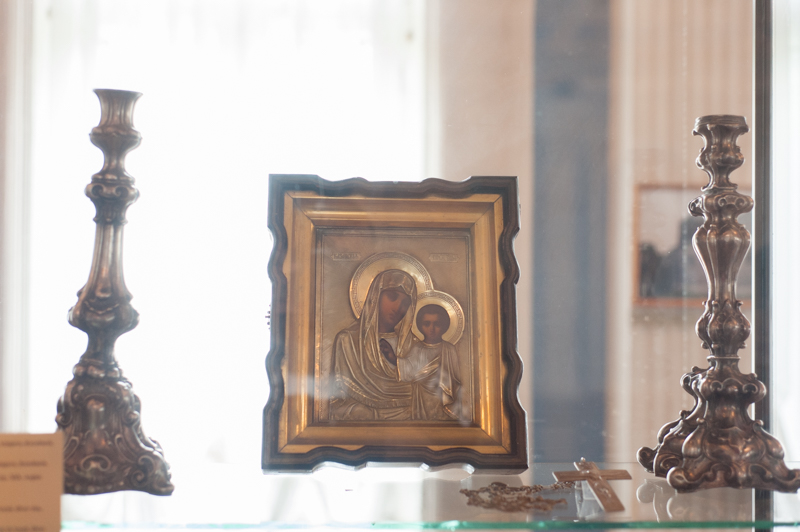 Icoana Maicii Domnului din Mănăstirea Kazan, sec XIX FOTO Sandu Tarlev