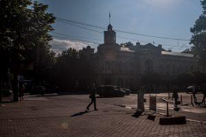 Sediul Primăriei Chișinău FOTO: Sandu Tarlev