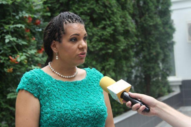 Raportorul ONU Rita Izsak-Nadiayne, la Chișinău FOTO moldNova