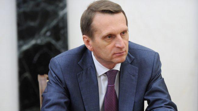 Serghei Narîșkin, președintele Dumei de Stat din Rusia, a plagiat teza de doctor. Sursa foto.