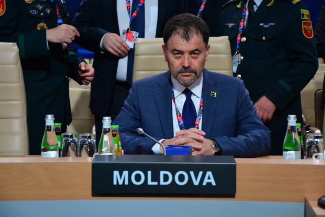 Ministrul Apărării, Anatol Șalaru, la Summitul NATO de la Varșovia Sursa foto