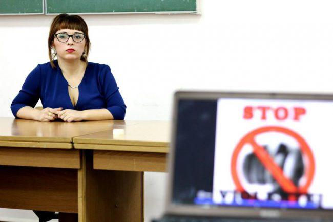 Arina Țurcan spune că jocul stimulează creativitatea la copiii. Foto: Profil Facebook
