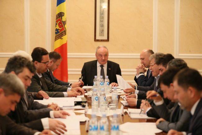 ședința Consiliului Suprem de Securitate (CSS) din 21 iunie.
