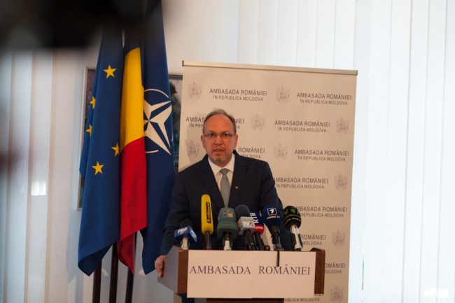 Excelența sa Daniel Ioniță, noul Ambasador al României la Chișinău FOTO: Sandu Tarlev