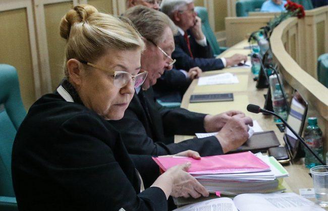 Deputata Elena Mizulina. Sursa foto
