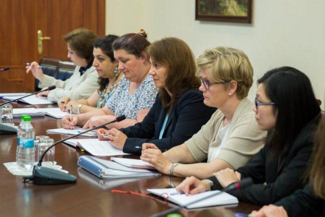 Echipa de experţi a FMI, condusă de Ivanna Vladkova-Hollar, s-a aflat la Chișinău în perioada 5-15 iulie 2016 FOTO gov.md