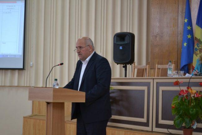 Ion Gudumac, președintele raionului Leova Sursa foto