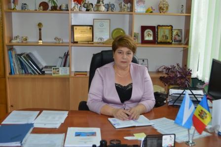 Ludmila Guzun, președintele raionului Ungheni Sursa foto