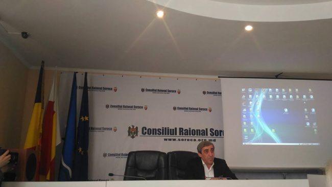 Mihai Mîțu, președintele raionului Soroca Sursa foto