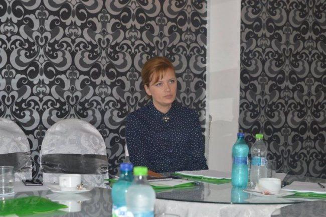 Olga Cîrma, șefa oficiului teritorial Comrat al Cancelariei de stat FOTO: Facebook