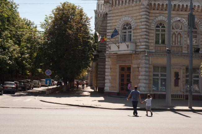 Primăria municipiului Chișinău FOTO Sandu Tarlev