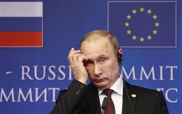 Vladimir Putin a decis în august 2014 să răspundă Occidentului prin nsancțiuni FOTO: europeanul.org