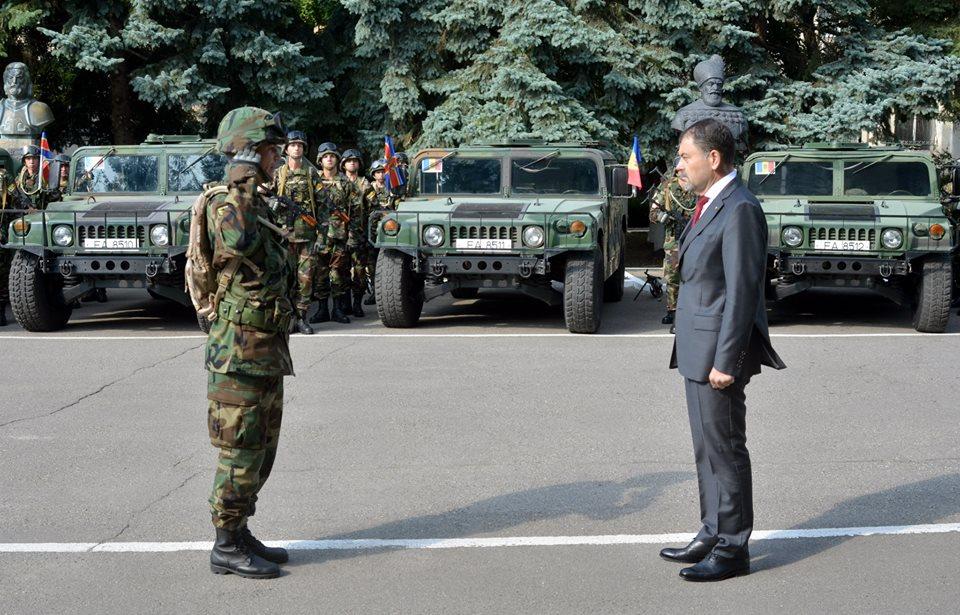 """Ministrul Apărării, Anatol Șalaru la exerciţiul multinaţional """"Sea Breeze 2015"""