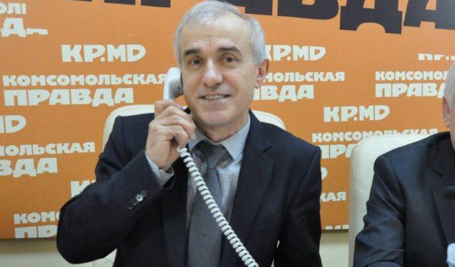 Constantin Becciev este director al Apă-Canal Chișinău din anul 2000 FOTO KP