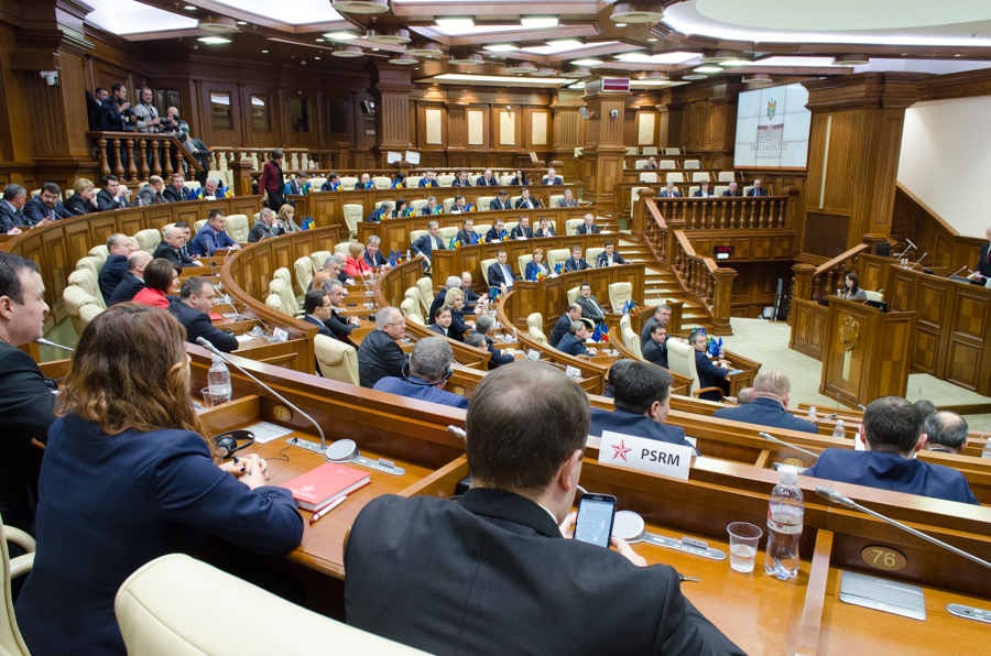 Parlamentul a votat acordul de împrumut acordat de FMI FOTO Sandu Tarlev