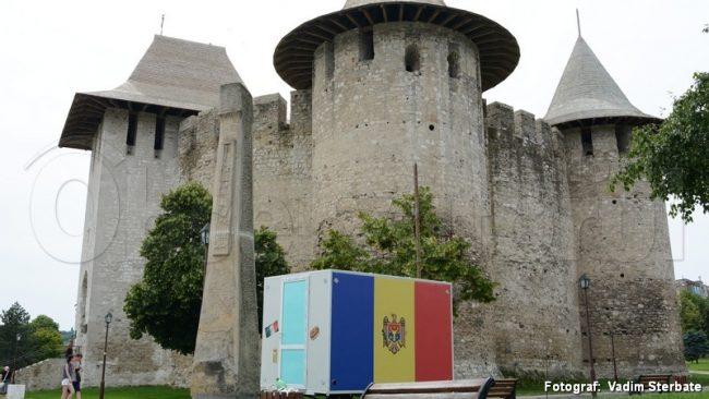 Ghereta familiei lui Cimbrimciuc din preajma Cetăţii Soroca.