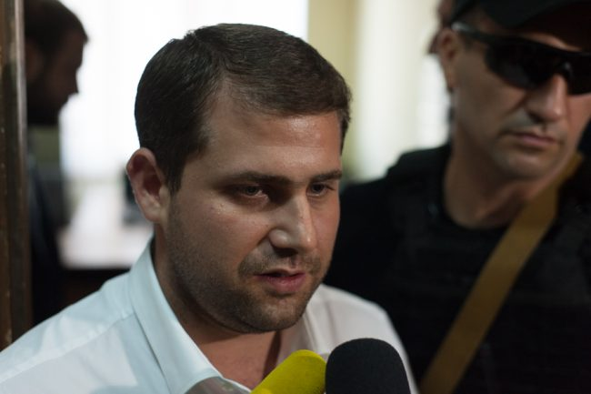 Ilan Șor, la Judecătoria Buiucani. 21 iulie 2016 FOTO Sandu Tarlev