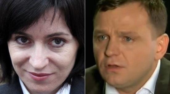 Maia Sandu și Andrei Năstase FOTO: argumentul.info