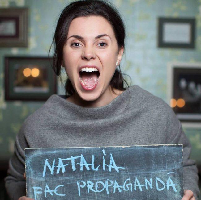 Natalia Morari este realizatoarea emisiunii Interpol de la TV7