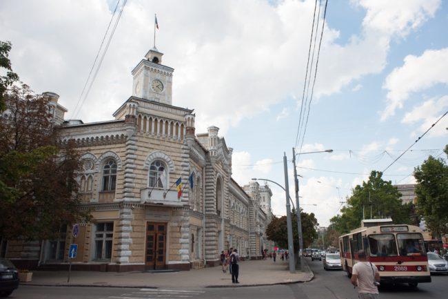 Sediul Primăriei Chișinău FOTO Sandu Tarlev