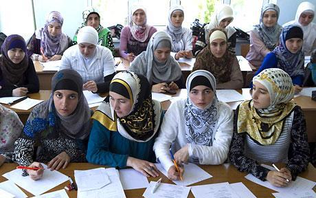 Eleve din DaghestanSursa foto