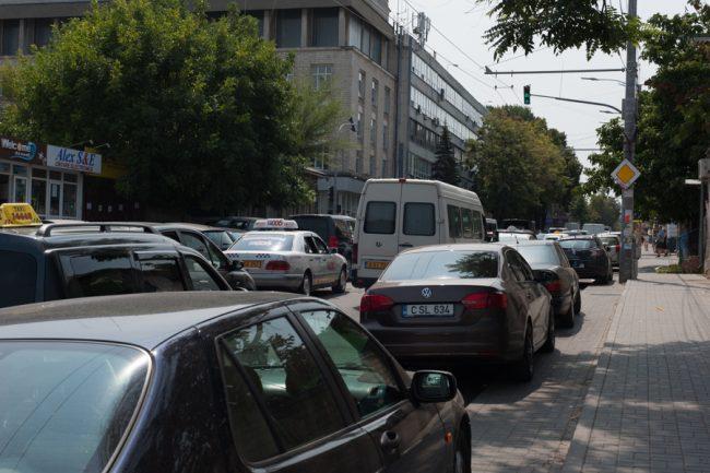 Strada Vasile Alecsandri, Chișinău. Foto Sandu Tarlev