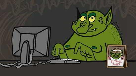 Troll, compoenetă importantă a războiului informațional
