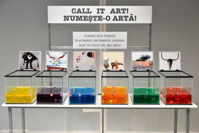 """""""Call it art"""" are la bază și interacțiunea cu publicul. Sursa foto"""