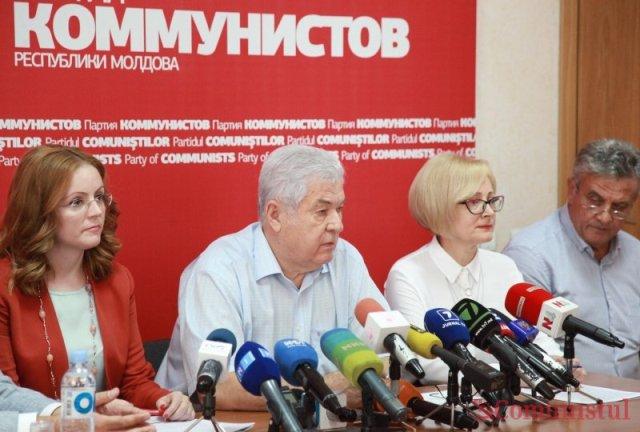 Vladimir Voronin, la conferința de presă FOTO moldNova