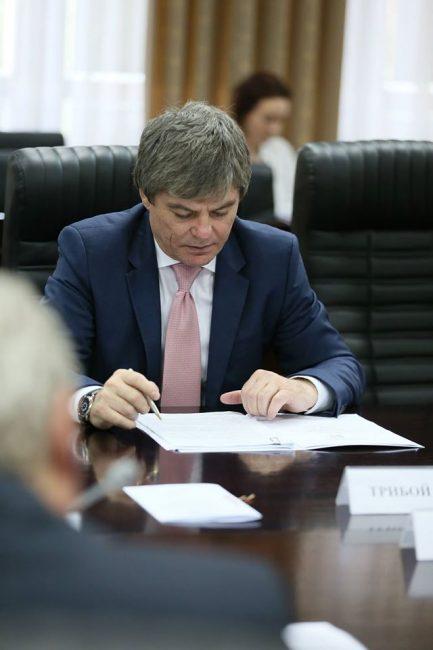 Viceministr al Economiei, Valeriu Triboi.