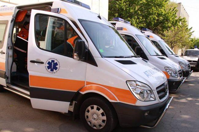 Ambulanțele de la Centrul Național de Asistență Medicală Urgentă Prespitalicească