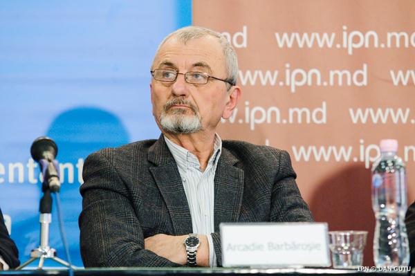 Expertul politic Arcadie Barbăroșie FOTO: IPN