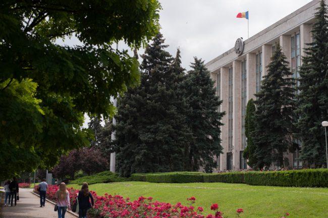 Clădirea Guvernului Republicii Moldova FOTO Sandu Tarlev