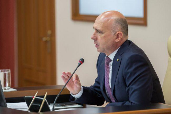 Premierul Pavel Filip spune că miliardul furat nu este chiar un miliard FOTO gov.md
