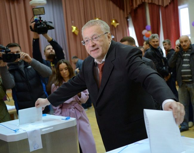 LIderul liberal-democraților, Vladimir Jirinovschi Liderul liberal-democraților, Vladimir Jirinovschi. Foto: © Ria Novosti. Evgheni Biatov