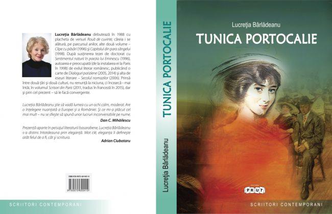 """Volumul """"Tunica Portocalie"""" a apărut la editura Prut Internațional în 2016 și se găsește în librăriile ProNoi. FOTO: Arhivă personală"""