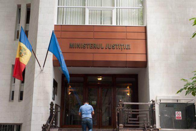 Sediul Ministerului Justiției de la Chișinău FOTO Sandu Tarlev