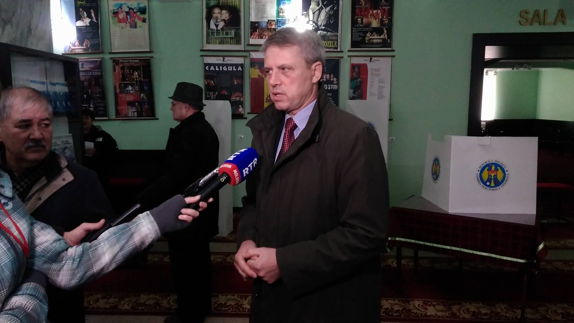 """Candidatul formațiunii """"Partidul Nostru"""" Dumitru Ciubașenco FOTO: Vlad Țurcanu"""
