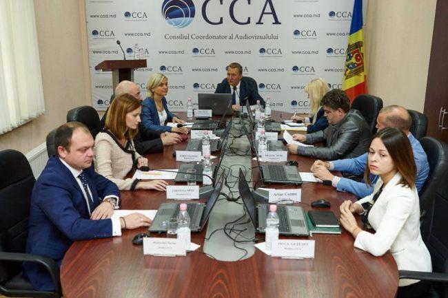 Ședința CCA. Președintele CCA, Dinu Ciocan (în centru). FOTO:Profil Facebook